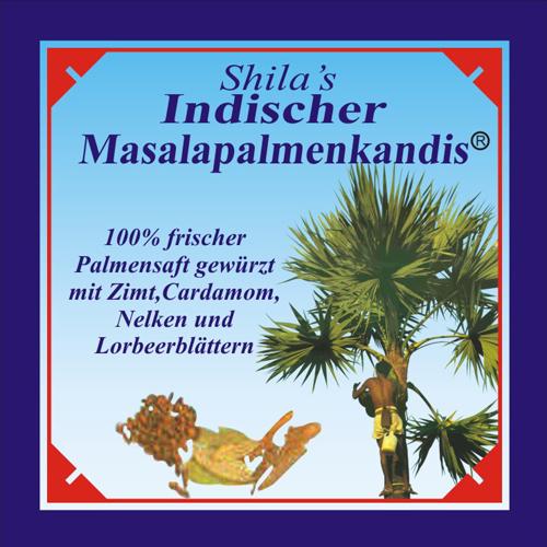 Shila's Indischer Masalapalmenkandis, Masalapalmenkandis, Teehaus Shila, Tee, Eilbek, Tee Wandsbek, Tee Hamburg